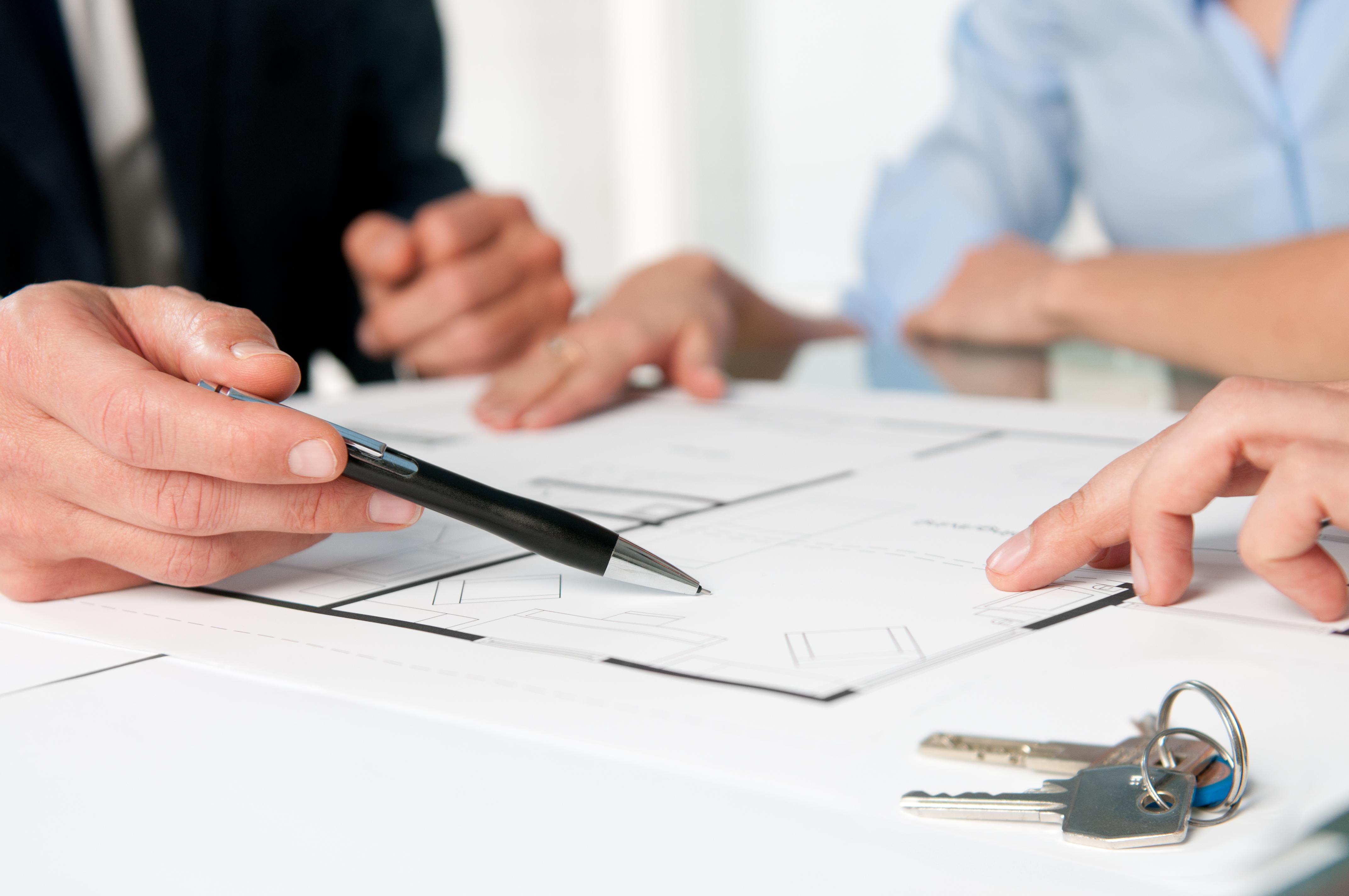 Accountants doing Paperwork